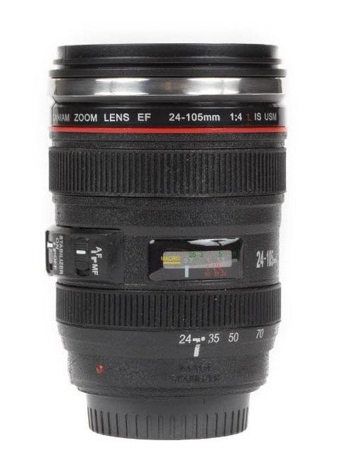 mug lens 1 لیوان با طرح لنز دوربین ( بدون همزن )