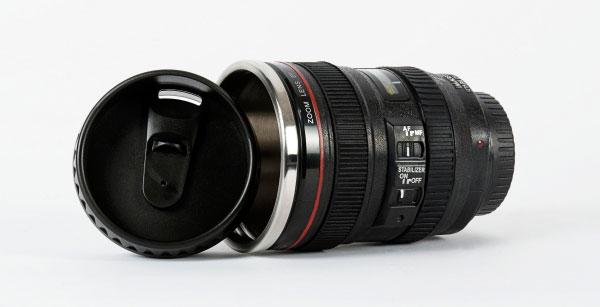 mug lens 6 لیوان با طرح لنز دوربین ( بدون همزن )