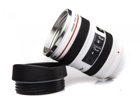mug lens 4 لیوان با طرح لنز دوربین ( بدون همزن )