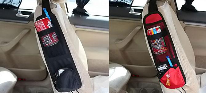 نگهدارنده لوازم کنار صندلی ماشین