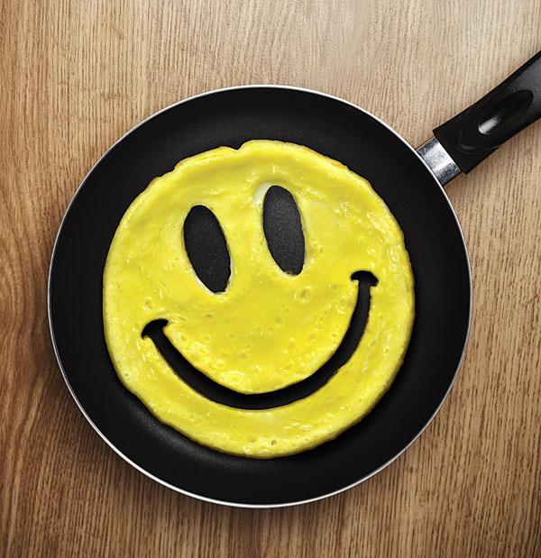 قالب تخم مرغ طرح لبخند