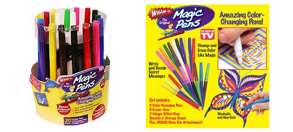 قلم های مجیک پن