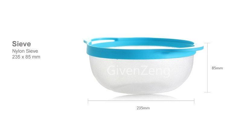 ظروف شیرینی پزی هشت پارچه با4 پیمانه اندازه گیری