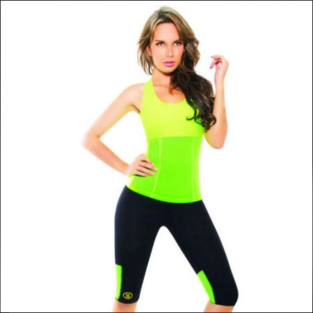 تاپ لاغری فیتنس هات شیپر رنگی برای سینه،پشت،دور سینه،شکم و پهلوها