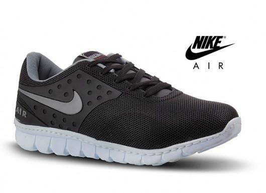 2167 1456243202 خرید کفش ورزشی نایک Nike مدل ایر AIR مشکی و سرمه ای
