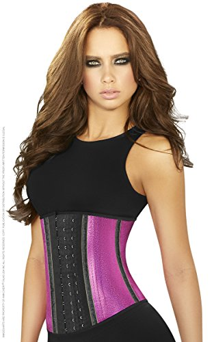 گن هوك دار شنی latex waist cincher