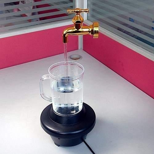 شیر آب تزئینی مناسب اتاق پذیرایی و جلسه، سالن، مغازه، و غیره