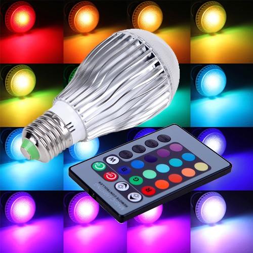 خرید لامپ ریموت دار ال ای دی با عمر طولانی
