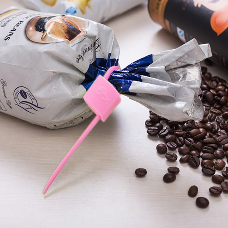 بست و قفل کیسه با سیم 3 عددی برای بستن کیسه پلاستیک