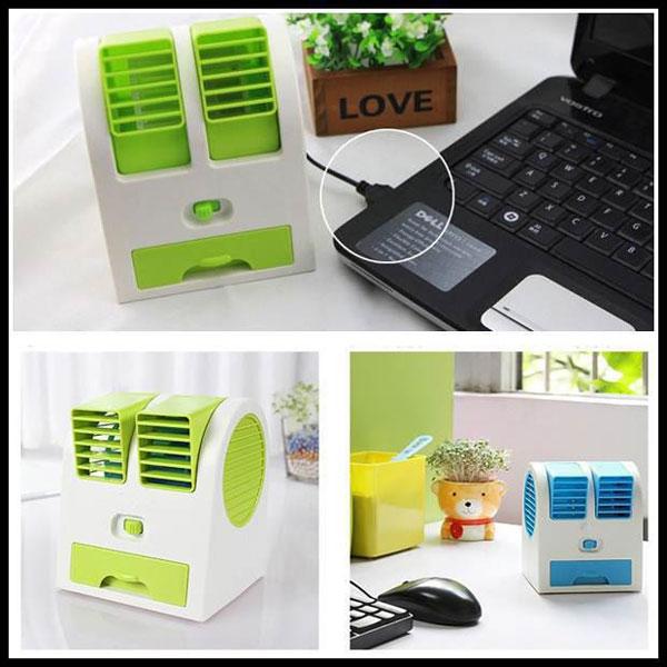 mini fan air conditioner 2 ميني كولر روميزي USB