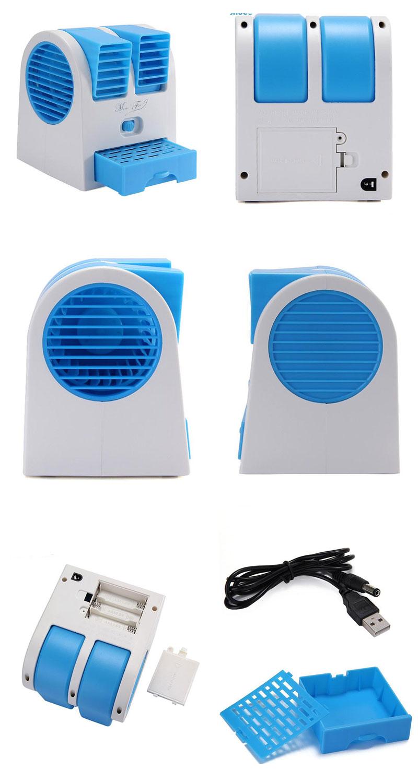 mini fan air conditioner 8 ميني كولر روميزي USB