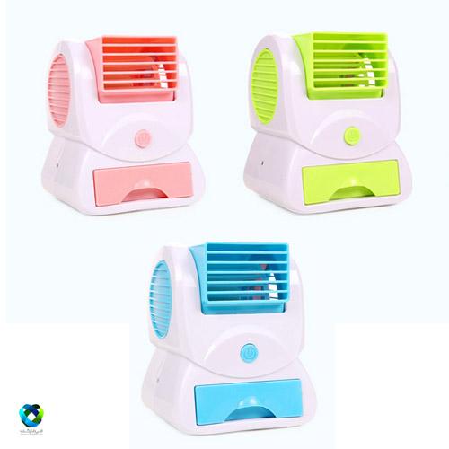 mini fan air conditioner 2 مینی کولر رومیزی USB
