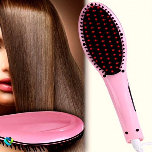 برس مو الکتریکی LCD دار اصل با گارانتی