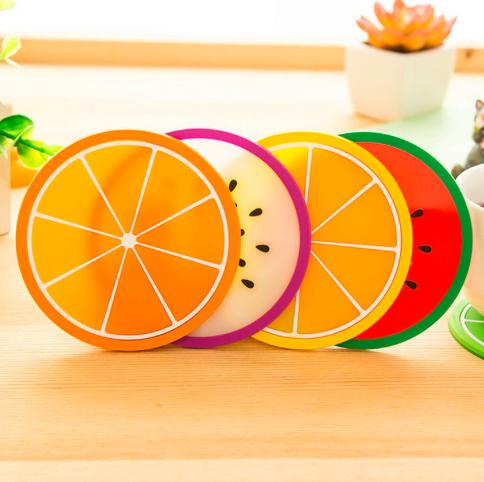 خرید اینترنتی زیر لیوانی فانتزی با طرح میوه