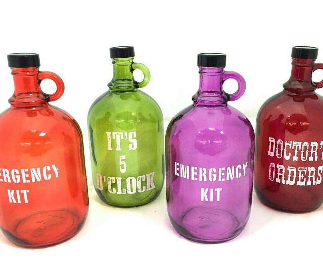بطری دو لیتری رنگی