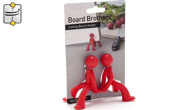 خرید پستی  نگهدارنده تخته برش دو برادر 4عددی