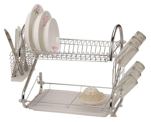 قفسه ظروف دو طبقه