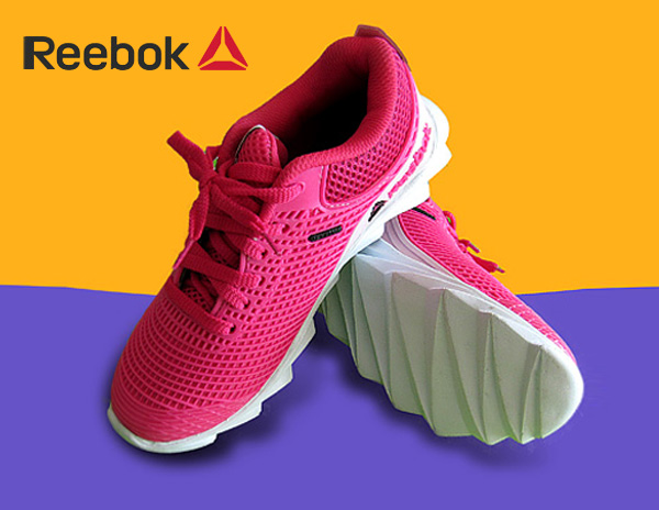 کفش ورزشی ریبوک دخترانه طرح فشن رنگ صورتی