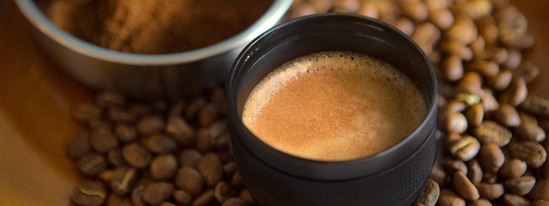 خرید ارزان قیمت مینی پرسو قهوه پودری Minipresso