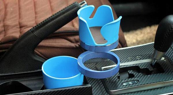 5 in 1 car cup holder 6 هولدر 5 کاره خودرو طرح لیوان