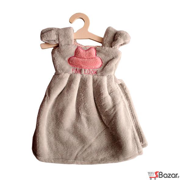 خرید پستی  حوله طرح لباس کودک