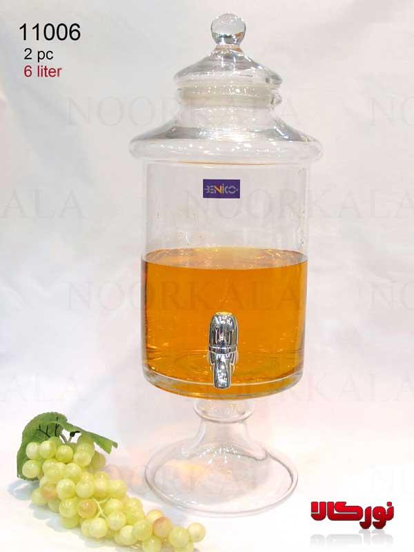 کلمن شیشه ای 4 لیتری
