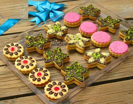 خرید پستی  قالب طرحدار کیک و شیرینی 4عددی