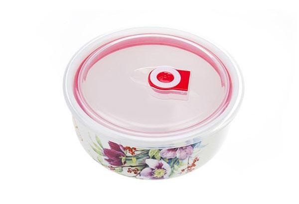 ceramic 3 pcs 3 ست ظروف سه تکه سرامیکی گلدار
