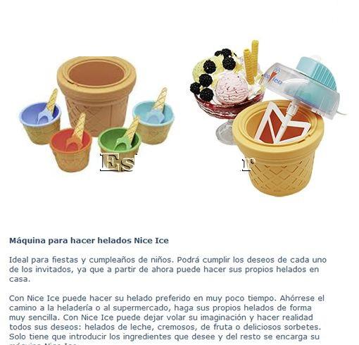 بستنی ساز خانگی نایس آیس