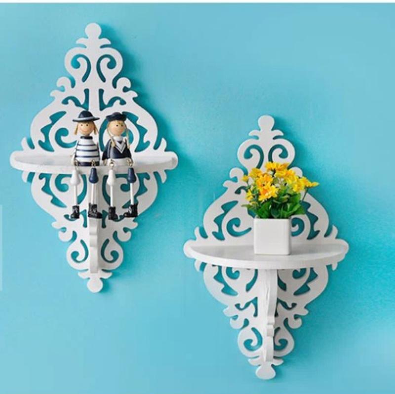 خرید پستی  شلف دیواری PVC طرح لوزی