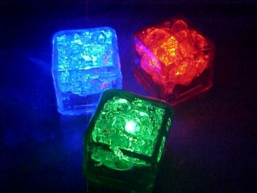 یخ LED هفت رنگ