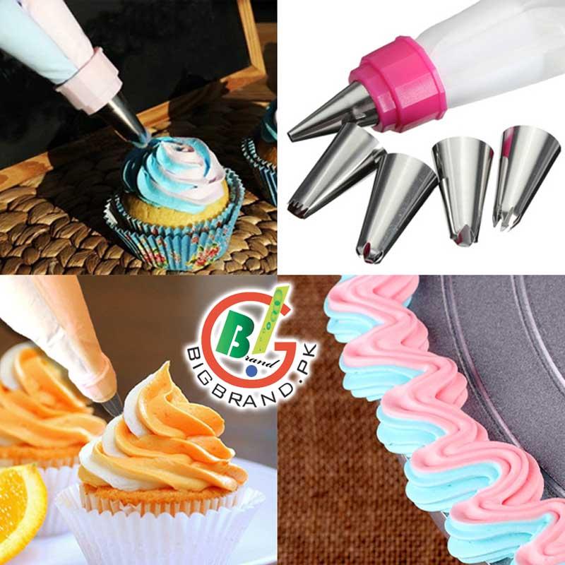 قلم طراحی کیک دوتایی Decorator