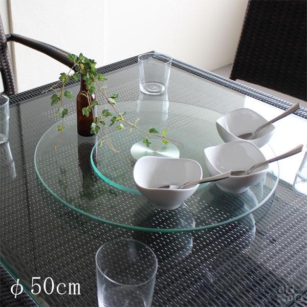 سینی شیشه ای دوار