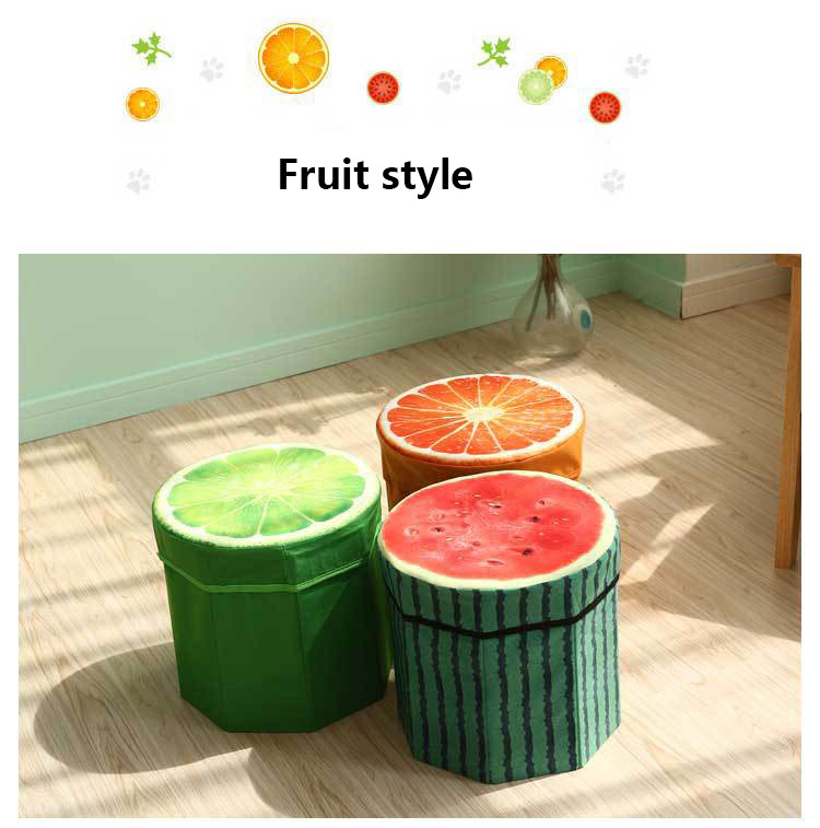 خرید پستی  صندلی جمع شونده سه بعدی طرح میوه