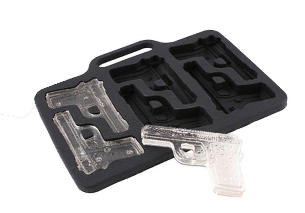 خرید پستی  قالب یخ طرح تفنگ