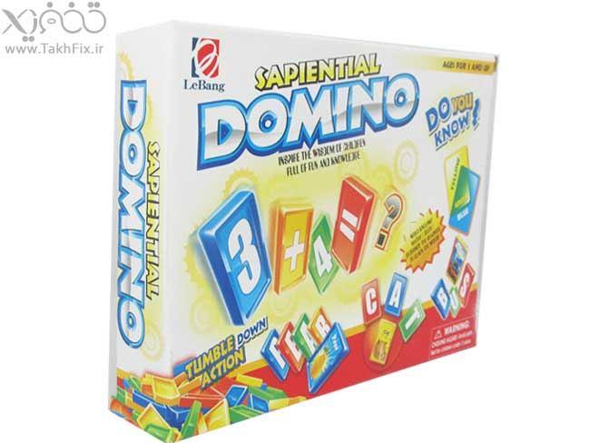 خرید پستی  بازی فکری دومینو 200 قطعه