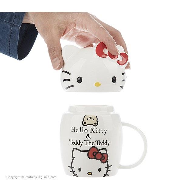 ماگ سرامیکی مدل Hello Kitty