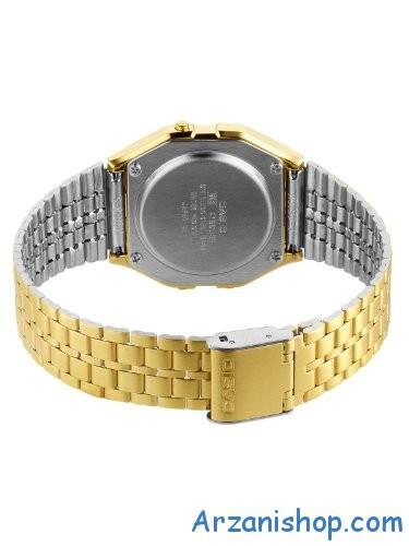 casio-a159wgea-1ef-gold-digital-فروش پستی ساعت زنانه فلزی طلایی اورجینال