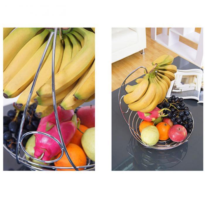 سبد میوه با آویز موز