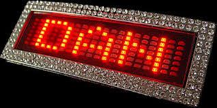کمربند LED (مانیتور دار)