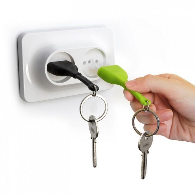 خرید پستی  جاکلیدی طرح پریز برق