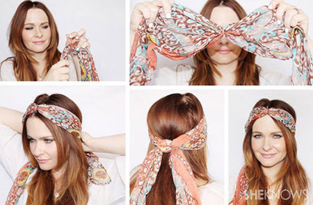 خرید دستمال سر و گردن 9 کاره