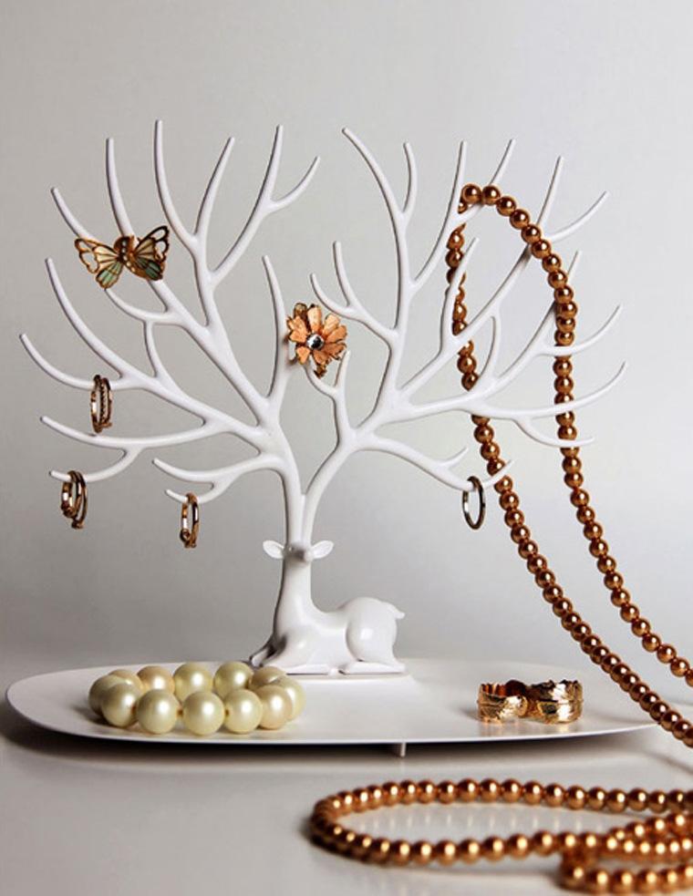 خرید پستی  جا جواهری شاخ گوزنی