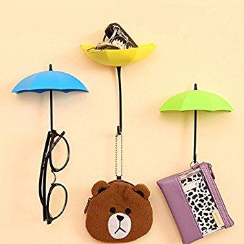 خرید پستی  ست 6تایی آویز چسبی فانتزی آشپزخانه طرح چتر