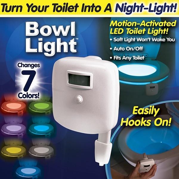 خرید دستگاه نور رنگی توالت فرنگی