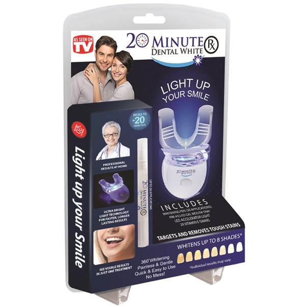 دستگاه سفید کننده و براق کننده دندان20minute dental white - -- سری2