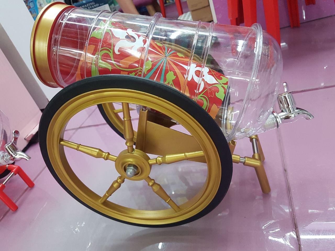 خرید پستی  بشکه فانتزی مایعات طرح درشکه