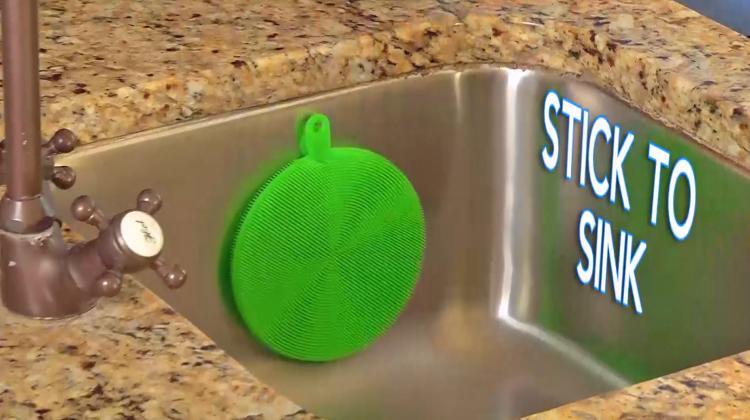 خرید اسفنج سیلیکونی چندکاره ی شستن انواع ظروف