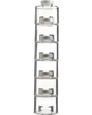 خرید پستی جا ادویه ای طرح برج 6 طبقه
