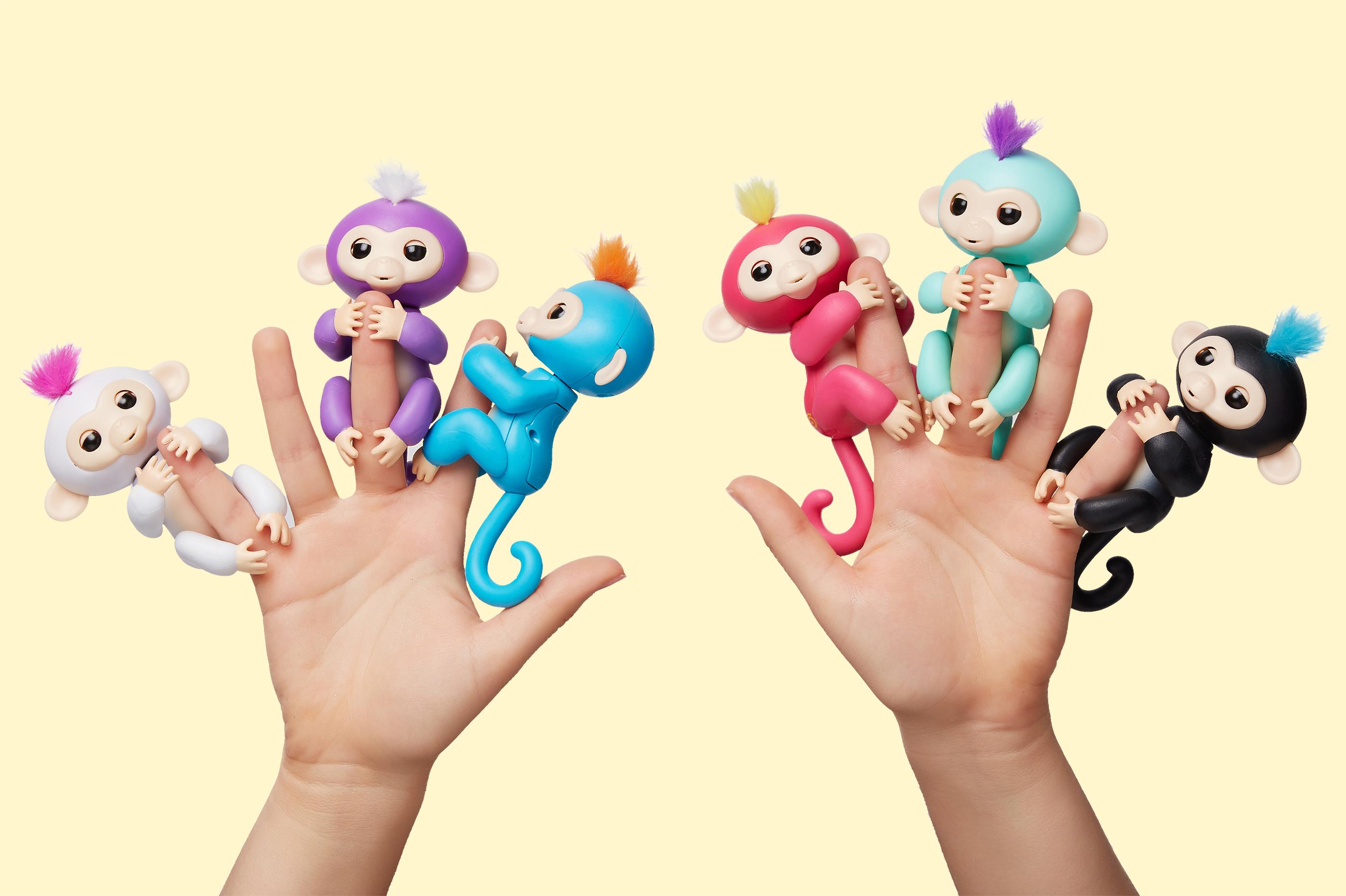 خرید اینترنتی ربات بچه میمون انگشتی